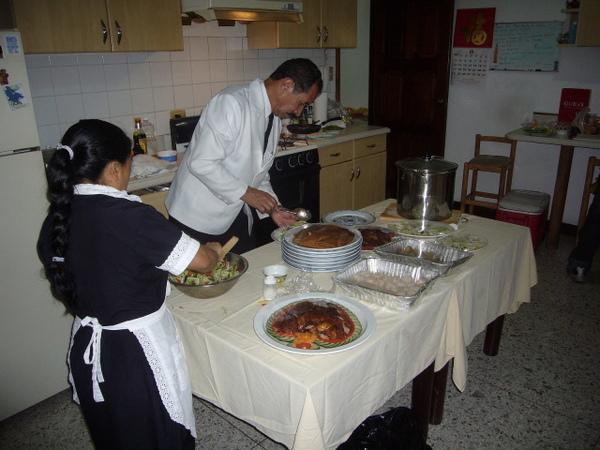 答宴的廚房