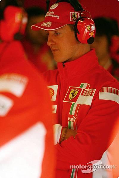 Schmi in 2007 winter test