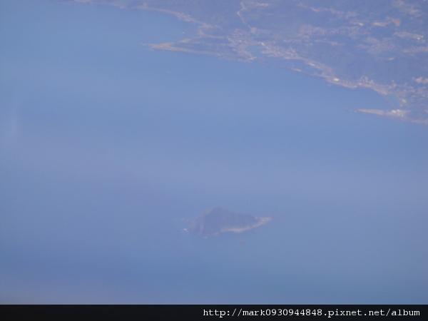 天氣晴朗看的到龜山島喔