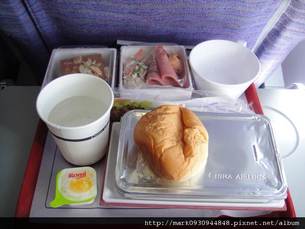 機上的餐點