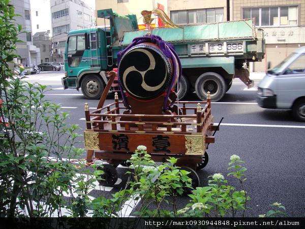 這次東京漫遊剛好遇上東京三大祭典之一
