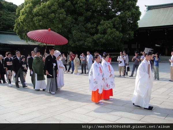 傳統正式的日本婚禮