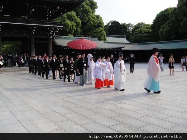 傳統的日式婚禮讓人很羨慕