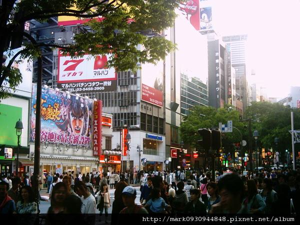 渋谷~滿滿的人