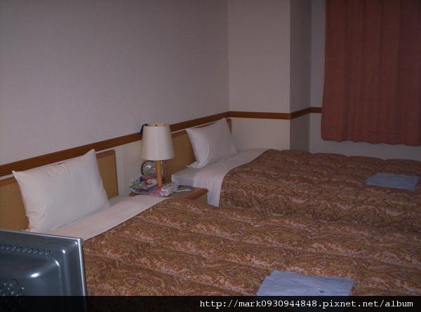 TOYOKO INN雙人床房間