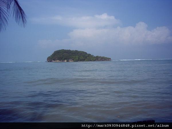 退潮時可以直接走過去的島