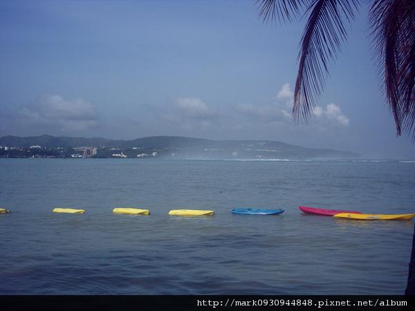 水上活動的獨木舟