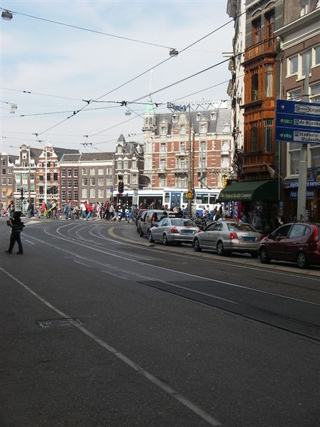 荷蘭的電車很發達.JPG