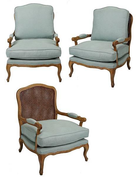 法式籐編椅背沙發3