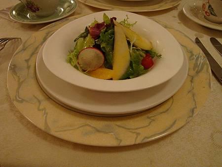 甜梨堅果沙拉