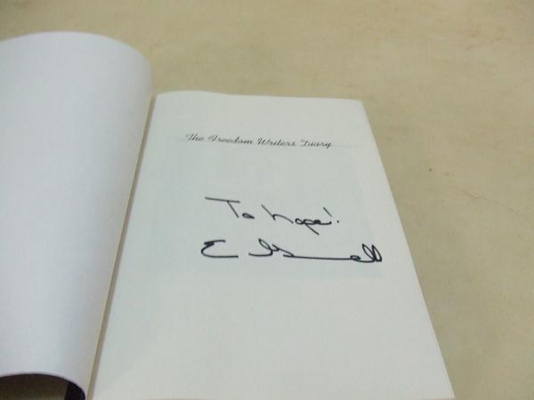 20081210Erin 親筆簽名