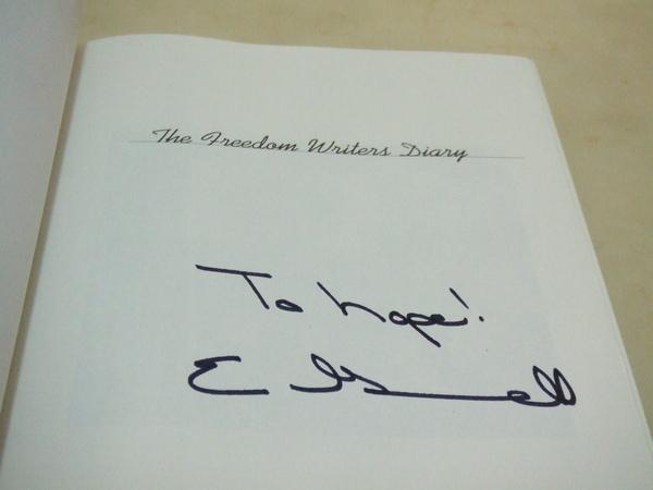 20081210Erin親筆簽名