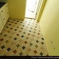 廚房地磚特寫