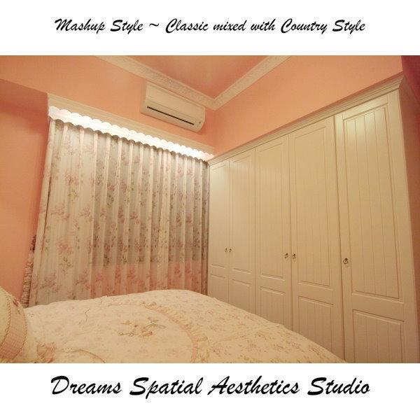 [室內設計]築韻空間美學工坊~竹東日出楊公館~甜甜的新娘房