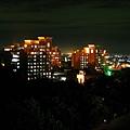 中正夜景‧遠眺學生宿舍