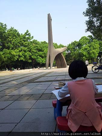 20121010都會公園寫生 (3)