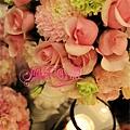 六福皇宮-繽紛粉白色系-婚禮佈置