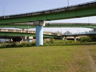 秀朗橋沒有便橋-2