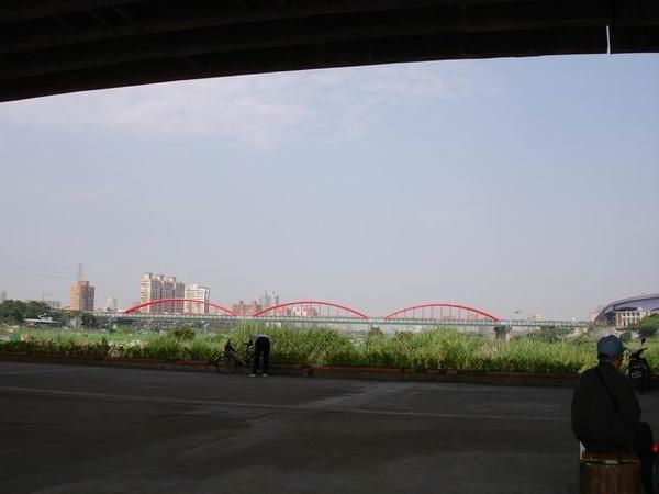 福和橋遠眺永福橋