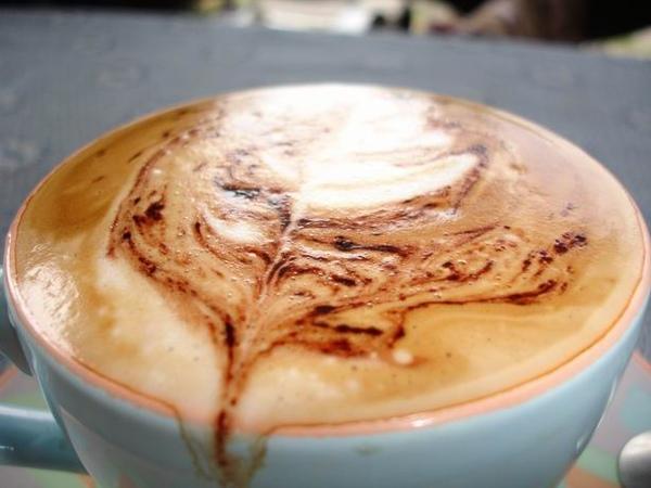 06-拉花的咖啡
