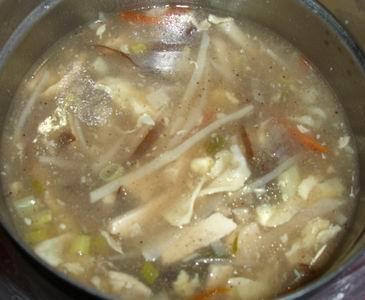 安卓媽的愛心晚餐-酸辣湯