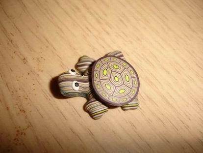 八月小物 - 小烏龜磁鐵-1