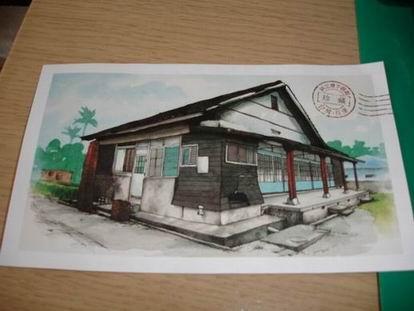 八月小物 - 小站明信片-1