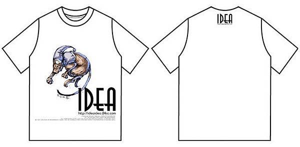 2004IDEA T恤服飾圖案設計。