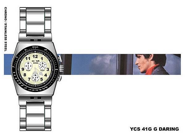 2003 SWATCH手錶網頁版型設計。