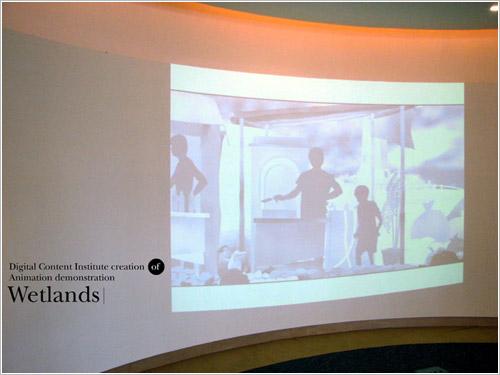 2006數位內容學院參展照片3。