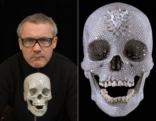 hirst-for the love of God
