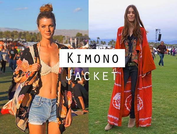 coachella street style kimono jacket