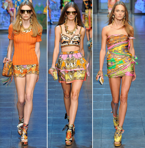 mini-dresses-and-short-pants-for-women-summer-by-D-G-2012