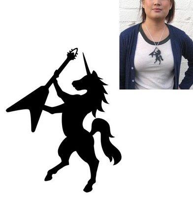 Black Unicorn Necklace gallerynucleus