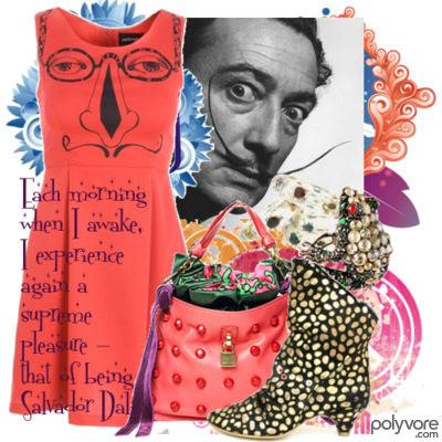 Salvador Dali Fashion Inspiration