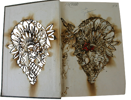 Scott_Campbell_Calavera_Burn_Book_Open
