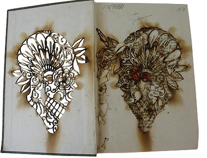 Scott_Campbell_Calavera_Burn_Book_Open
