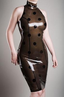 American polka dot dress