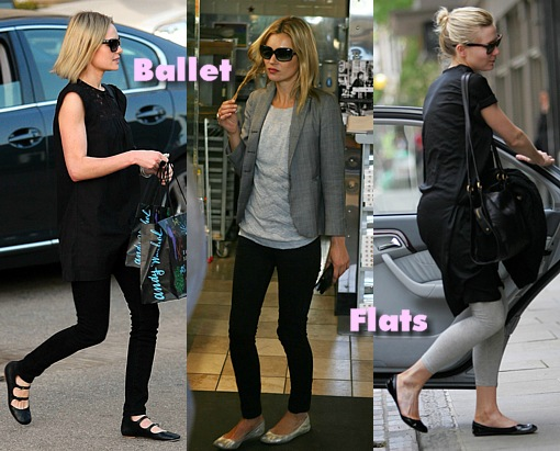 how-to-wear-ballet-flats