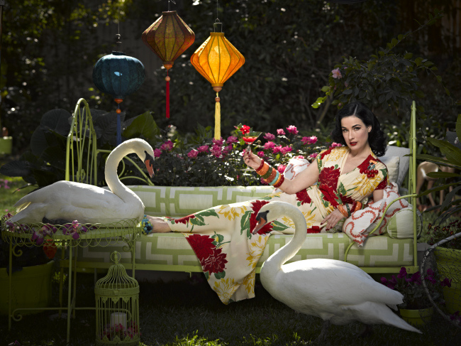 Dita Von Teese by Douglas Friedman for InStyle, February 2011 6.jpg