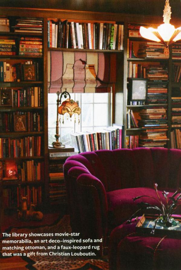 Dita-Von-Teese-library.jpg