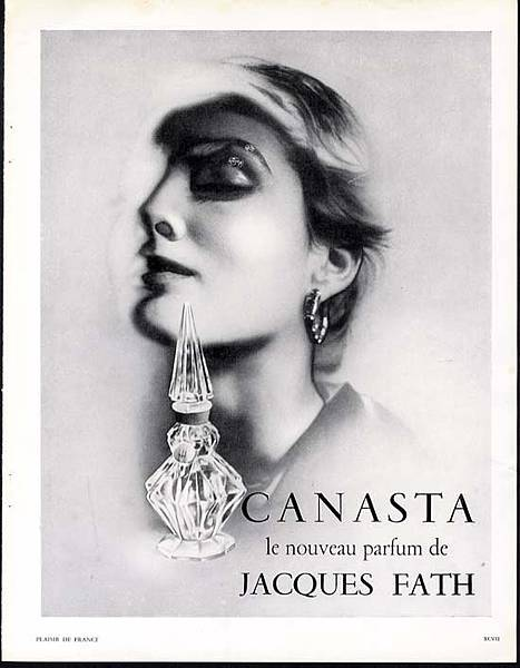 jacques fath canasta vintage 1950 perfume ad.jpg