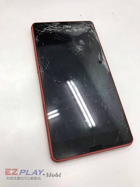 SONY Z3C面板破裂_o