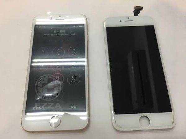 iphone6螢幕畫面全黑