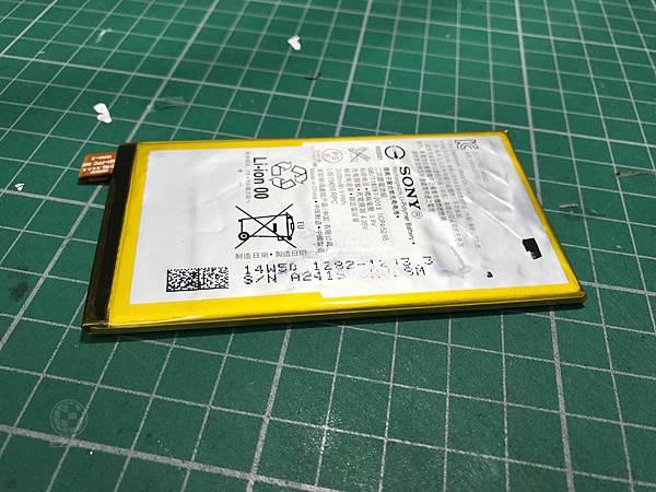 Z3C電池故障