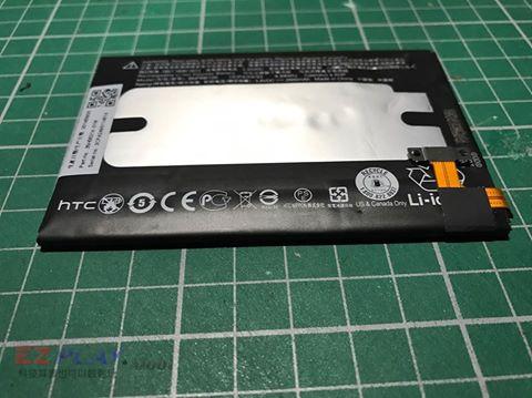 HTC M8電池膨脹