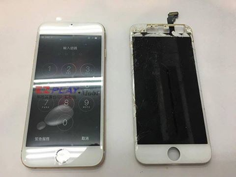 iphone6手機慘摔