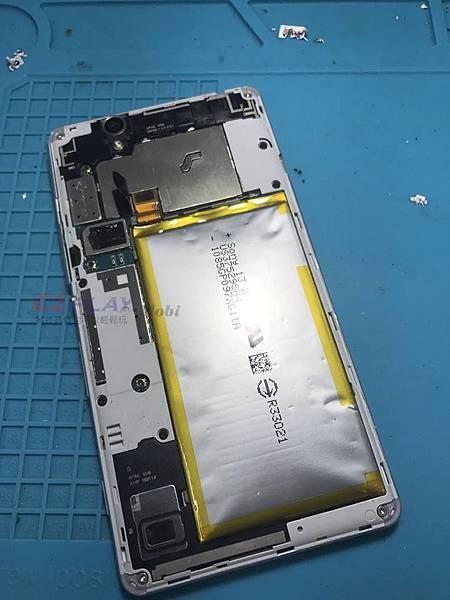 SONY C4電池大膨脹
