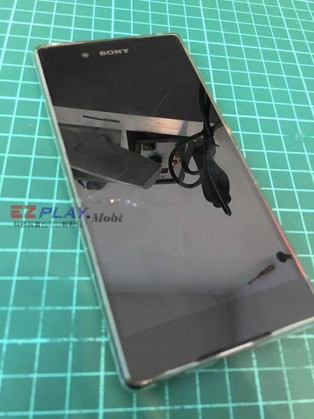Sony Z3+面板破裂