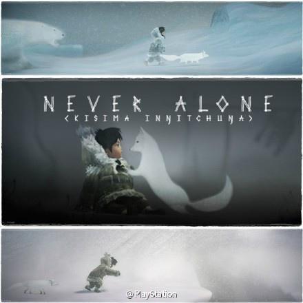 《NEVER ALONE》